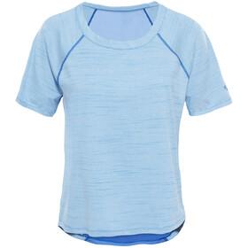 The North Face Motivation Stripe t-shirt Dames blauw